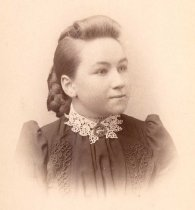Image of unidentified young woman