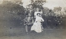 Image of Clara and Arthur Ziebell with Friends - P2010.53.22