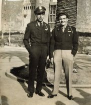 Image of Lt Emmerichs with Friend - P2007.53.25