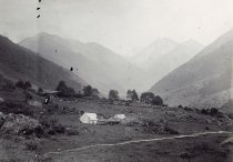 Image of Camp in the Qinglai Mountains - P1992.38.40