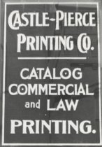 Image of Castle-Pierce Printing Co. - P1961.3.14