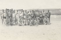 Image of Sailors on a Beach - P2013.38.152