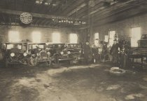 Image of Interior of Oshkosh Auto Parts - P2014.30