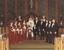 Image of Unidentified Wedding Party - P2014.32.79