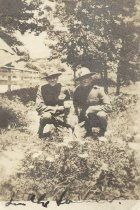 Image of Two Unidentified US Marines - P2014.48.13