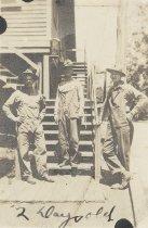 Image of Three Unidentified US Marines - P2014.48.2