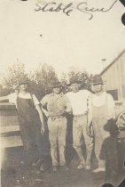 Image of Four Unidentified US Marines - P2014.48.4