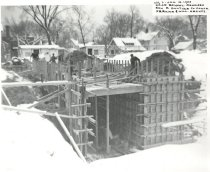 Image of Construction of 1953 Read School addition  - P2015.47.1