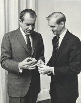 Image of William Steiger & President Richard M. Nixon - P2016.59.2