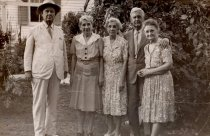 Image of 0000.00.0025 - William Demeritt and Wife with Friends