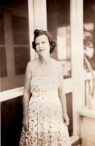 Image of 0000.00.0027a - Claudia Demeritt on Porch