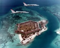 Image of 0000.00.0153 - Aerial view of Fort Jefferson