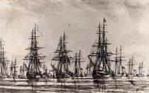 Image of 0000.00.0186b - Anti-Pirate Fleet in Key West Harbor