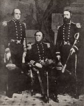 Image of 0000.00.0190 - Captain Samuel F. Dupont, Commander Sidney Smith Lee and Lieutenant David Porter