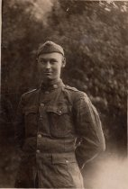 Image of 0000.00.0195 - Unknown Military Serviceman on Postcard