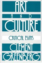 Image of Art and Culture: Critical Essays                                                                                                                                                                                                                               - Greenberg, Clement
