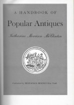 Image of A Handbook of Popular Antiques                                                                                                                                                                                                                                 - McClinton, Katharine Morrison
