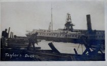 Image of Steamship at Taylor's Dock