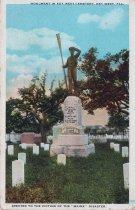 Image of U.S.S. MAINE Monument