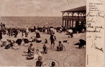 Image of A bathing Scene at Lillagore's, Ocean Grove, New Jersey