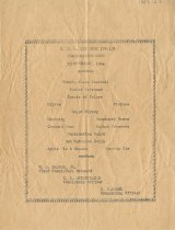 Image of U.S.S. KEY WEST Thanksgiving Menu