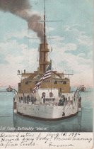 Image of 0000.01.0024 - 1st Class Battleship U.S.S. MAINE