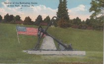 Image of 0000.01.0047 - Anchor of the Battleship U.S.S. MAINE in City Park, Reading, Pennsylvania