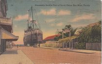 Image of Steamship Dock at Foot of Duval Street, Key West