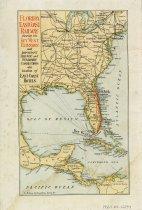 Image of Map of Florida East Coast Railway