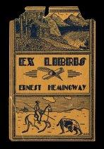 Image of Ernest Hemingway Bookplate