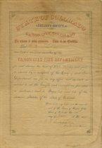 Image of Certificate, Membership