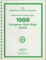 Image of Evergreen Girls State Guide, 1988