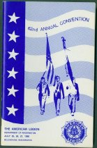 Image of 62nd Annual Convention Commemorative Book, 1980