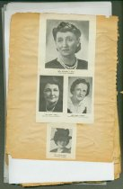 Image of 1944 - 1948 Scrapbook (Inside Page)