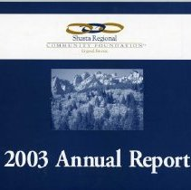 Image of SRCF 2003 Annual Report