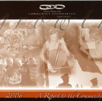 Image of 2006 SRCF Annual Report