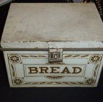 Image of Bread box, top