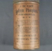 Image of Sodium phosphate can, front