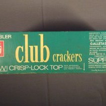Image of Keebler club crackers box, back view