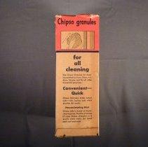 Image of Chipso granules, left side