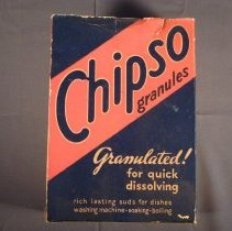 Image of Chipso granules box