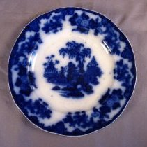 Image of Flow blue plate