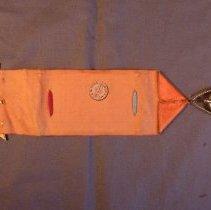 Image of GAR ribbon, underside