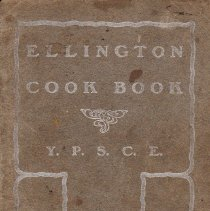 Image of Ellington Cook Book cover