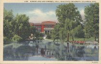 Image of Mirror Lake and Campbell Hall
