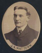 Image of J. H. Mattern (SMC 1904)