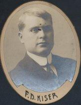Image of Foster D. Kiser (SOMC 1910)