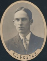 Image of C. D. Postle (SOMC 1907)