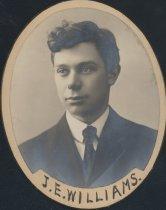 Image of J. E. Williams (SOMC 1907)
