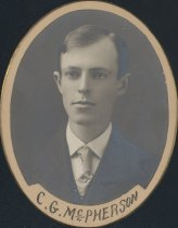 Image of Clarence Githens McPherson (SOMC 1908)